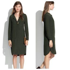 Madewell Olive Green Dress Size XS EUC